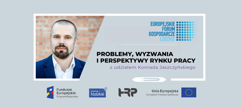 Konrad Jaszczyński - Europejskie Forum Gospodarcze - prelegent